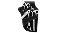 The popular Elite range now comes in a complete set of scissor, thinner and Occams razor, all put together in a leather holster.