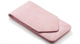 AMA Pink Leather Pouch